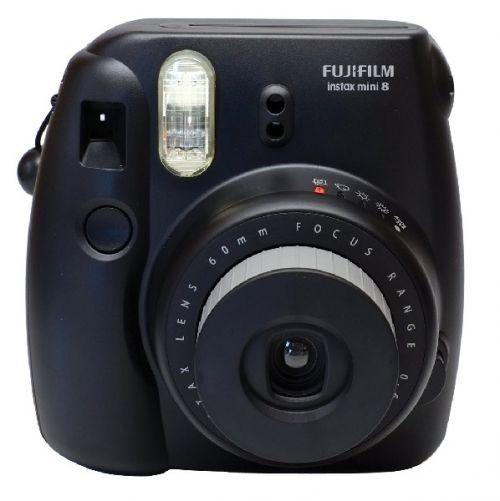FUJIFILM Polaroid Instax Mini 8S - Black