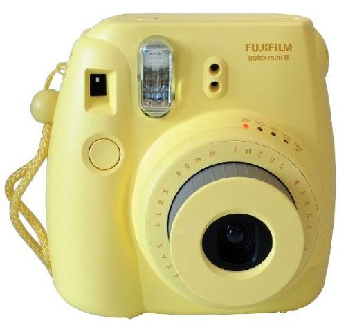 FUJIFILM Polaroid Instax Mini 8S - Yellow