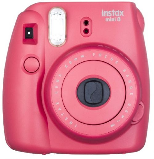FUJIFILM Polaroid Instax Mini 8S - Rasberry