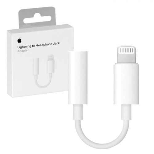 Lightning to 3.5mm Headphone Jack Adapter [MMX62]
