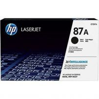 TONER 87A Black LaserJet Toner Cartridge (CF287A)